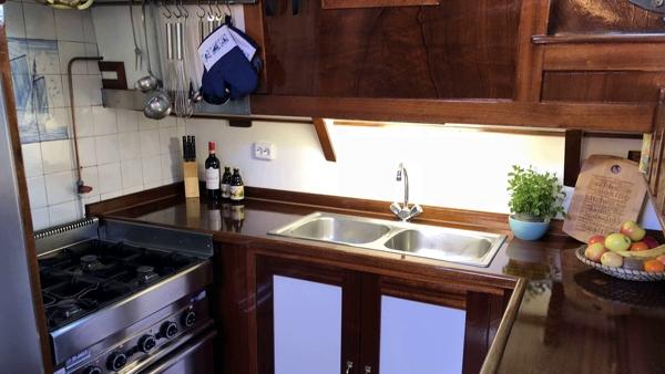 keuken zeilschip victoria-s