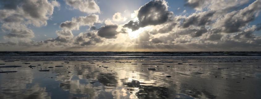 Eb en vloed op de Waddenzee