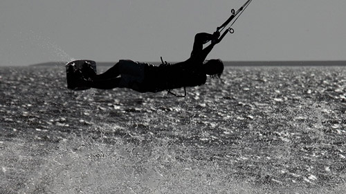 Zeilen en Kitesurfen Waddenzee